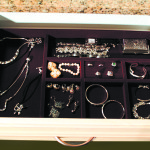 jewelry storage inset in drawer